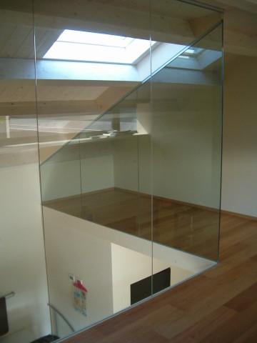 Vetreria piacenza porta vetro e divisori trasparenti o - Divisori interni ...
